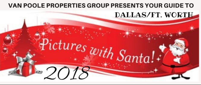 2018 Dallas/Ft. Worth Pictures with Santa Guide