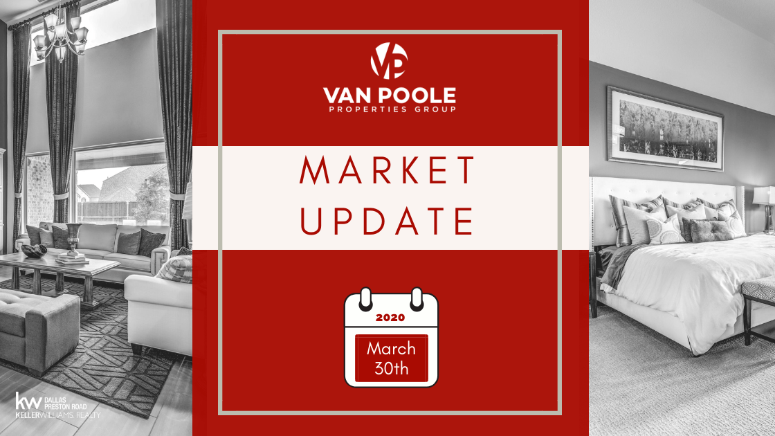 Market Update – March 30, 2020 – Dallas-Fort Worth Real Estate