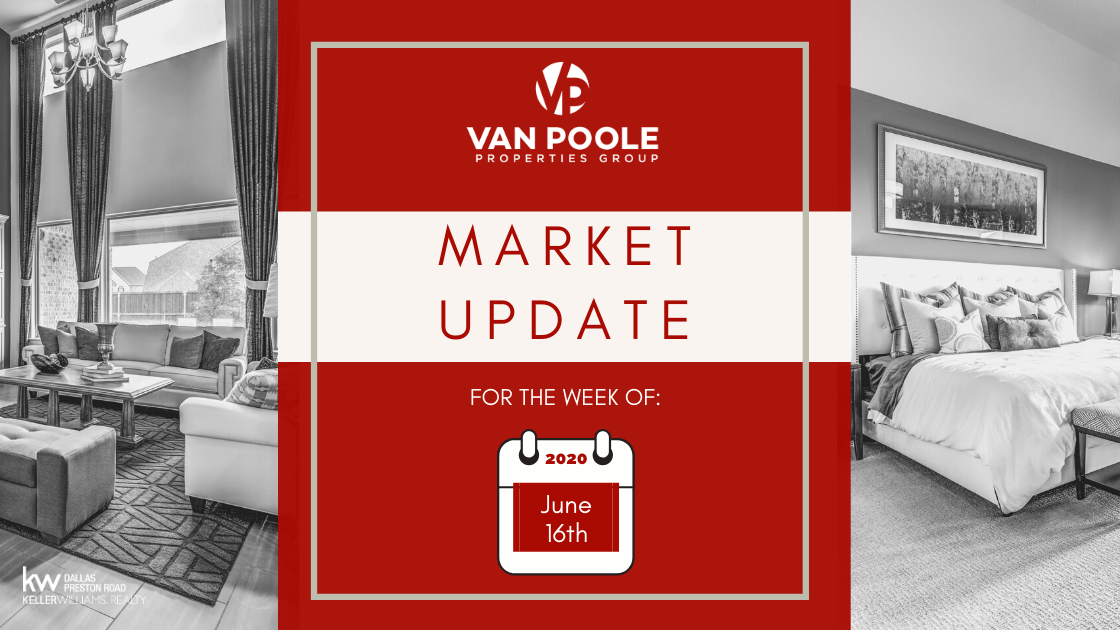 Market Update – June 16, 2020 – Dallas-Fort Worth Real Estate