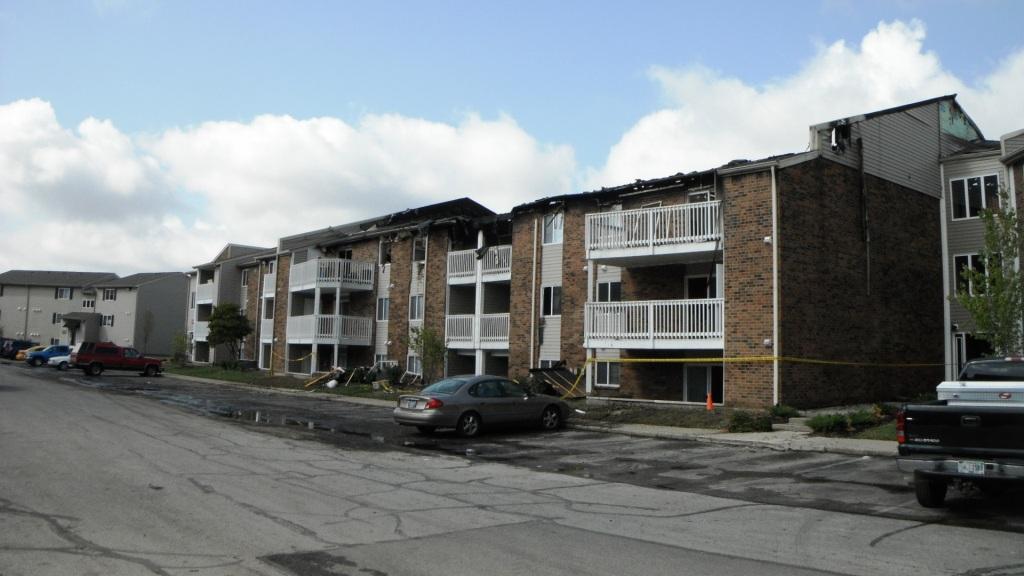 Exterior After Fire