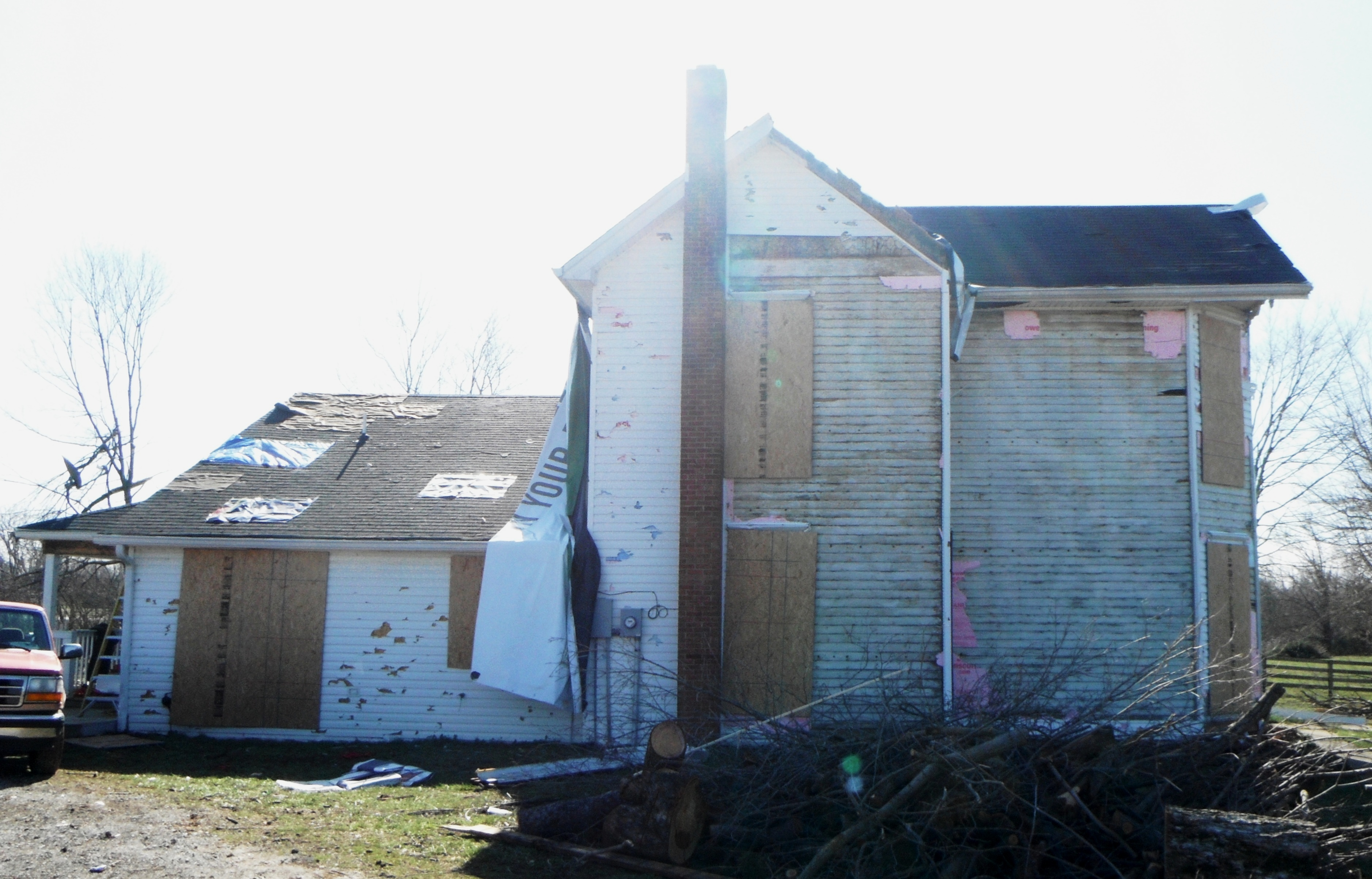 South Exterior before