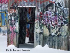 Graffity In Snow