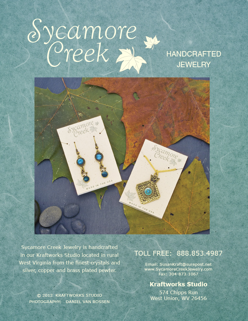 Jewelry catalog cover