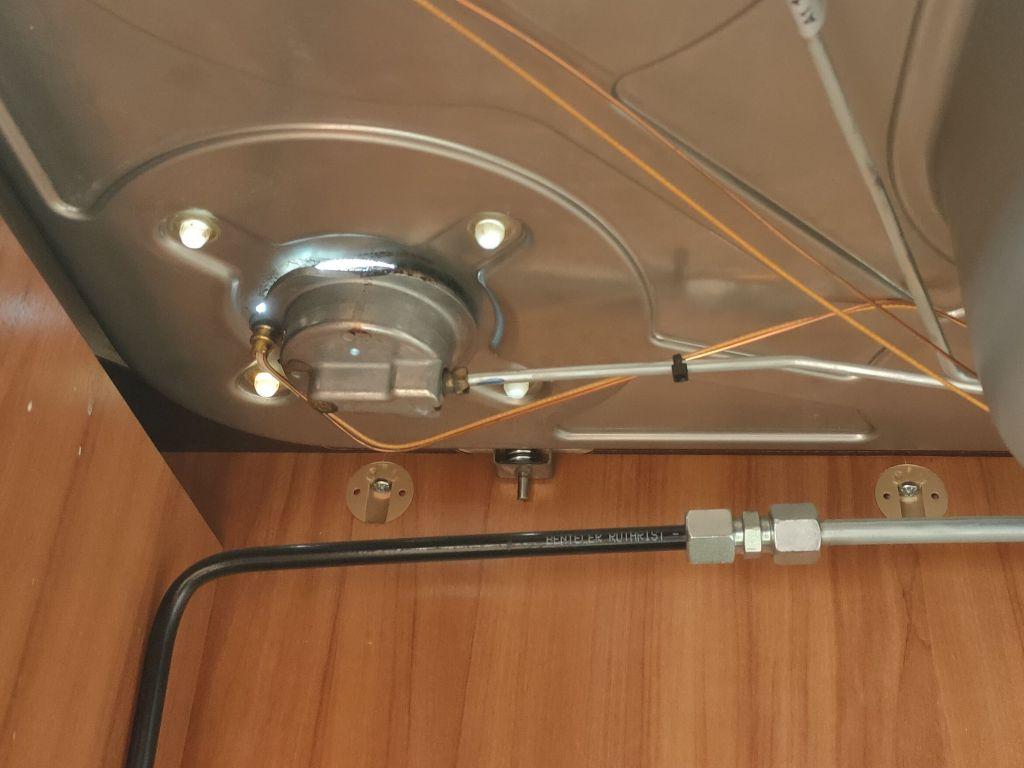 Limpieza fogón cocina dometic Campervan autocaravana