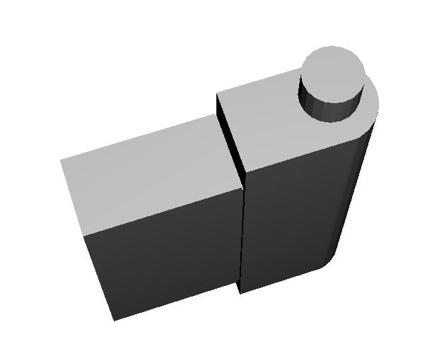 imagen bisagra 3D de oscurecedores remis
