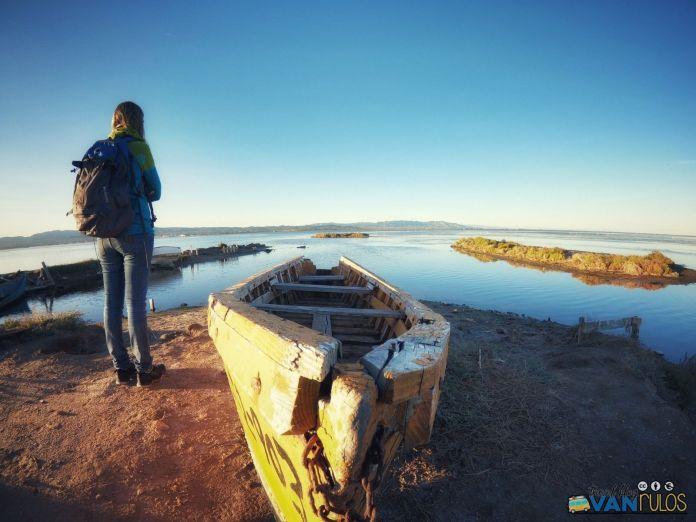 vajar cementerio de barcas del Delta del Ebro