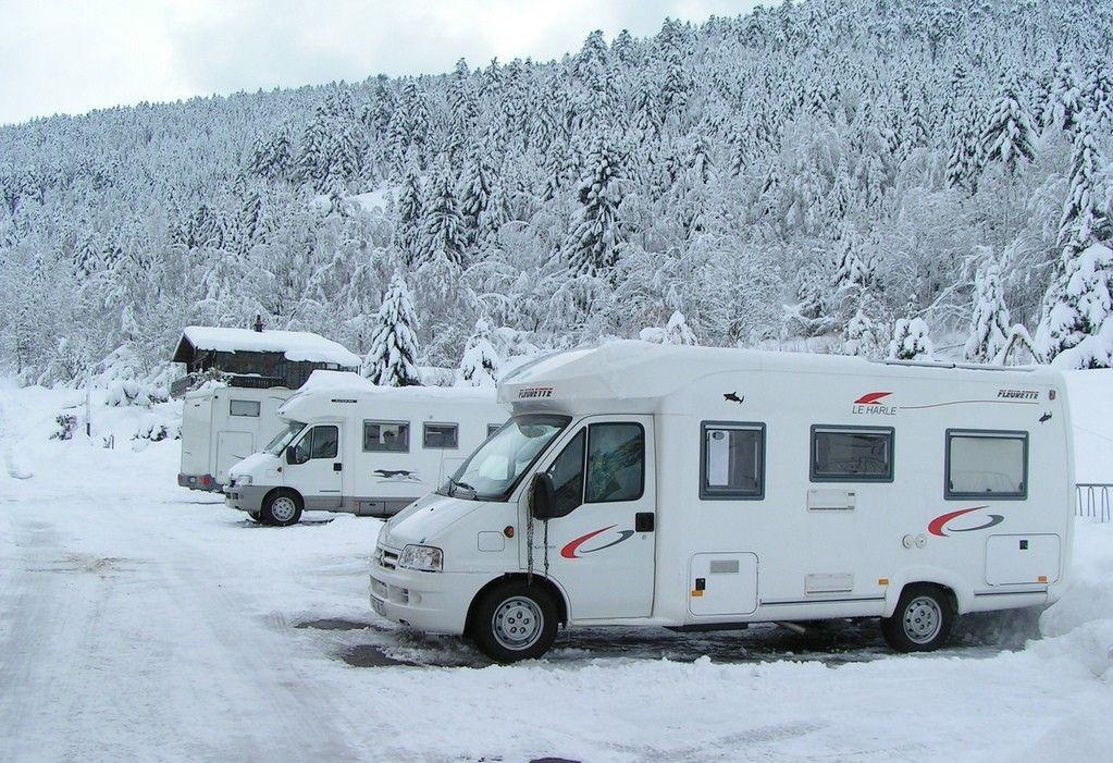 seguridad en la nieve para autocaravanas y campers