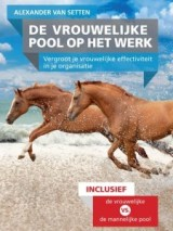 De vrouwelijke pool op het werk - Voorblad boek