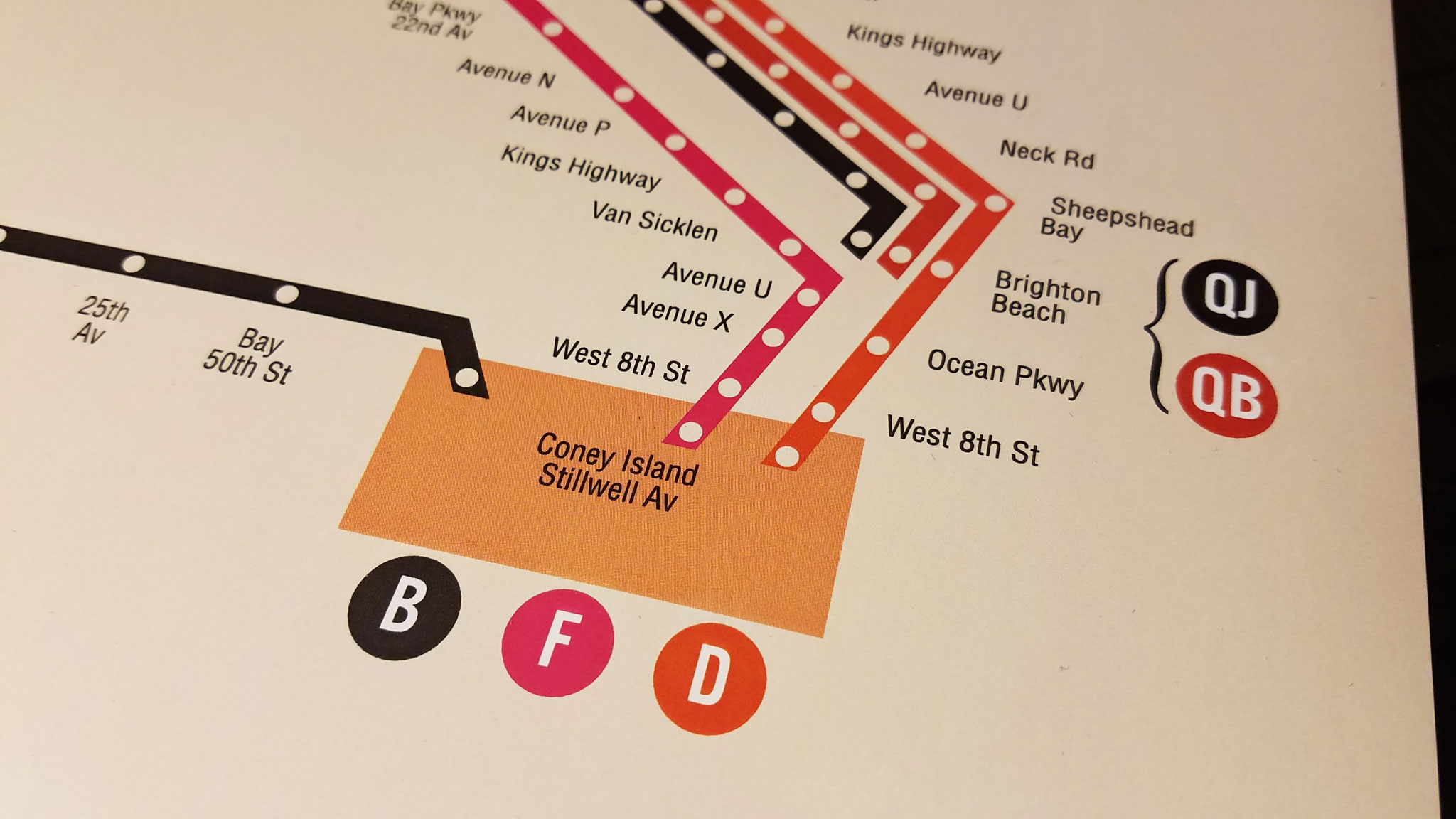 Mta new routes: chrystie street connection 50th anniversary poster