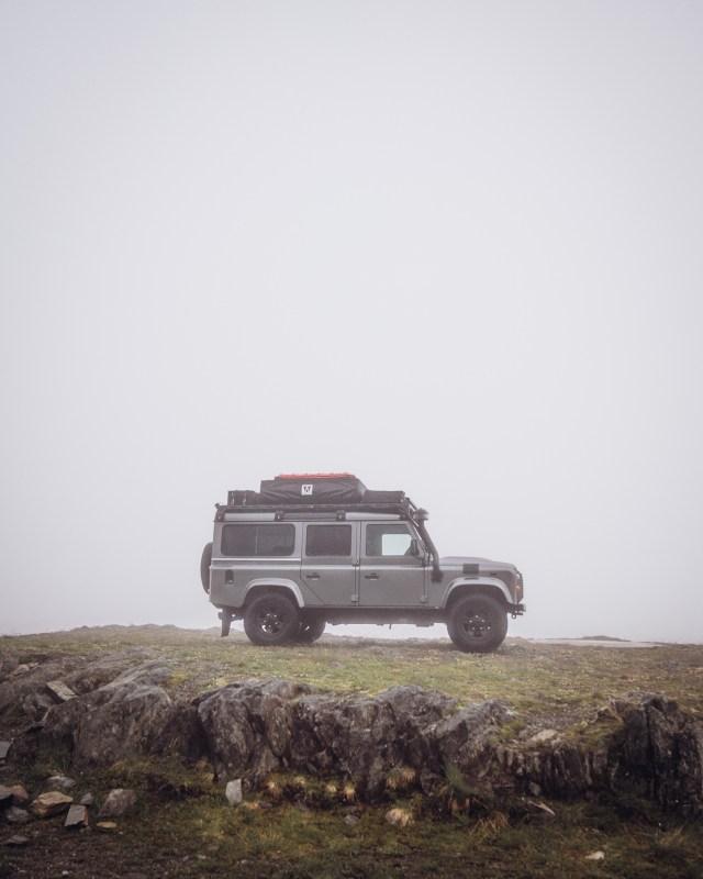 Land Rover Defender mit Wohnmobilzulassung von to.be.outdoors