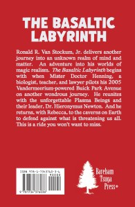 Back cover of The Basaltic Labyrinth