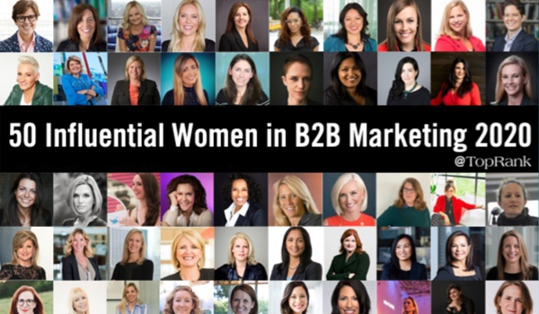 50 Influential Women in B2B Marketing Who Rocked in 2020