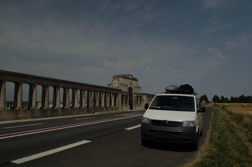 Roadtrip beginn in der Normandie