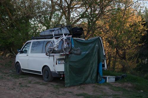 Outdoordusche Camper Lifestyle