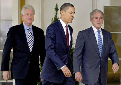 Obama, Clinton et Bush promettent se faire vacciner devant les caméras