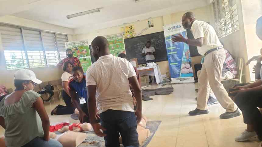 , Haïti/Société:25 personnes formées en secourisme par Trinity Emergency Medical Services