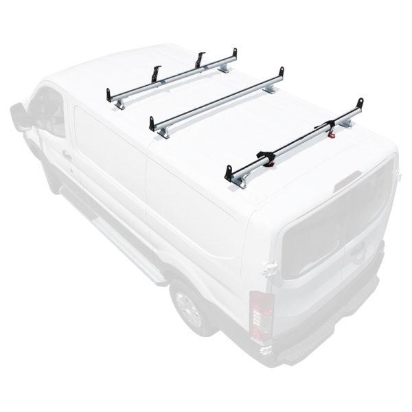 h3 ladder roof rack for ford transit cargo vans 2015 on