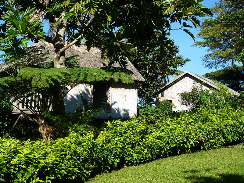 Jack's Nima (Bungalow) has great privacy, with extensive planting around  attractively placed around its locality