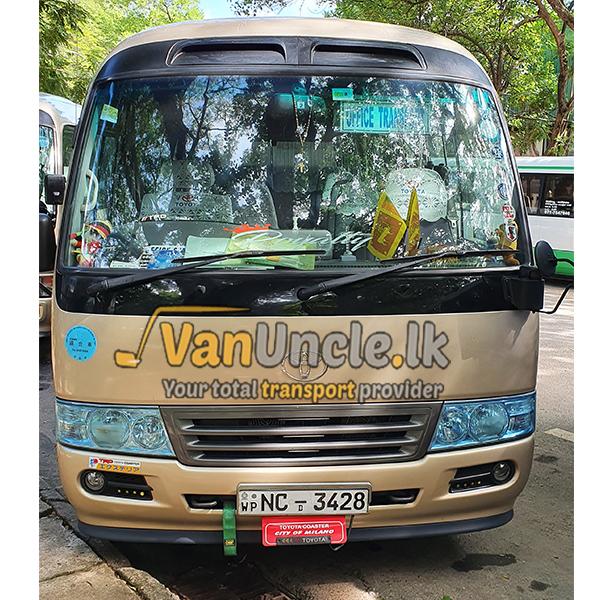 Staff Transport from Marawila to Wellawaththa