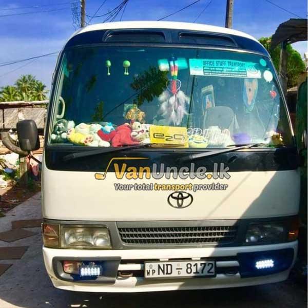 Office Transport from Batuwandara to Colombo