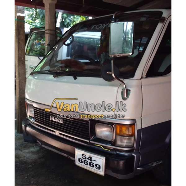 School Transport Service from Minuwangoda to Colombo