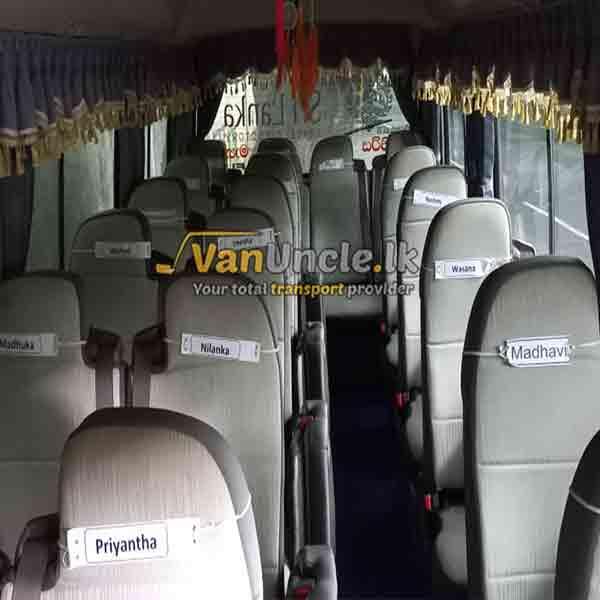 Office Transport Service from Porawagama to Borella