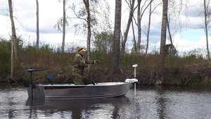 Buster mini visboot