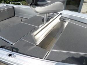 Buster S Vis Aluminium Visboot