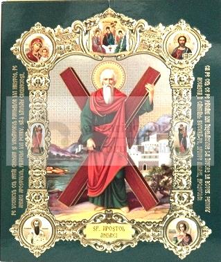 Icoana cu medalion Sfantul Andrei