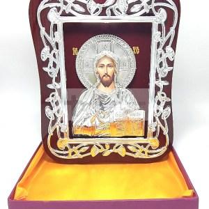 Icoana Iisus Hristos Binecuvantand lumea