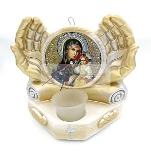 Candela ceramica Maica Domnului Strastnaia