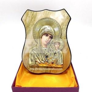 Icoana aurie pe lemn Maica Domnului din Kazan