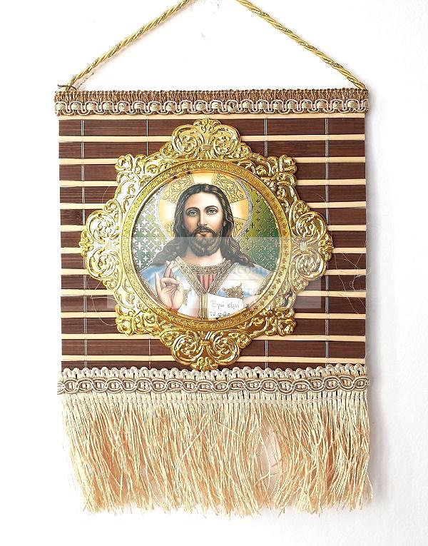 Icoana pe lemn tip Prap Iisus Hristos