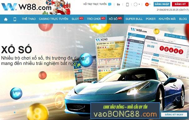Hướng dẫn chơi xổ số và lotto tại W88