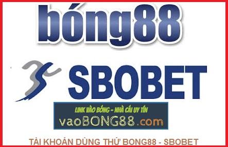 Tài khoản bong88 - tài khoản sbobet