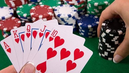 flush poker