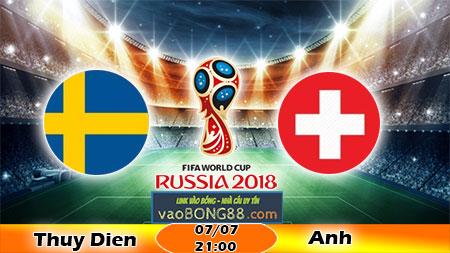 Soi keo Thuy Dien vs Anh (21h ngay 07-07-2018)