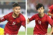 Việt Nam có thể thiếu vắng Quang Hải, Công Phượng ở trận chung kết lượt về