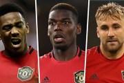 Martial, Pogba & Shaw đều vắng mặt trong trận làm khách tiếp theo của M.U