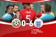 Bulgaria 0-6 Anh: Tam sư tạo cơn mưa bàn thắng