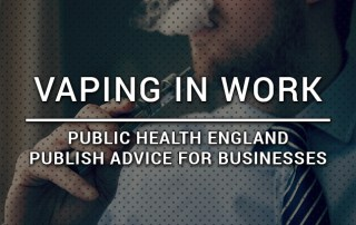 Vaping in work - advice for business policies from public health england