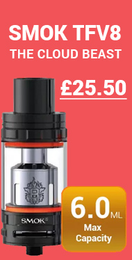 Buy the Smok TFV8 tank cheapest in the UK