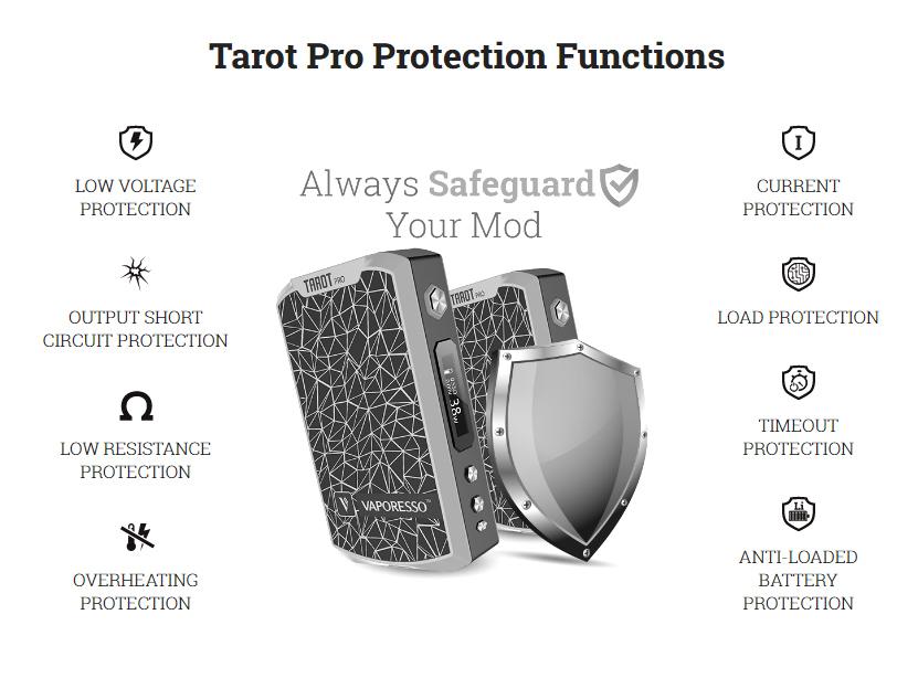 Vaporesso Tarot Safety