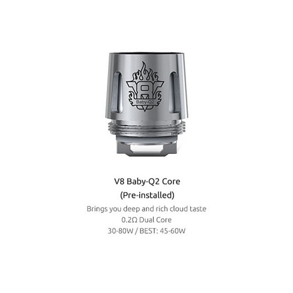 V8-Q2 Descrition for baby beast tank by SMOK