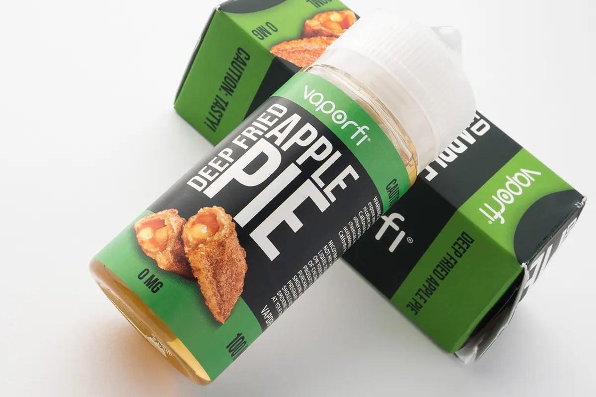 【リキッド】Deep Fried Apple Pie「ディープ・フライド・アップルパイ」 / VaporFi ベイパーファイ レビュー