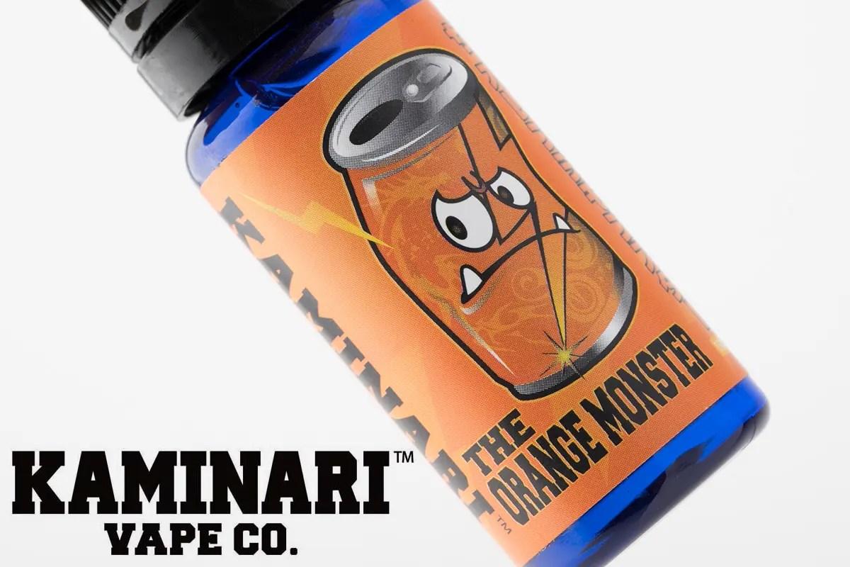 【リキッド】THE ORANGE MONSTER ザ・オレンジ・モンスター / KAMINARI VAPE CO. カミナリベイプ レビュー