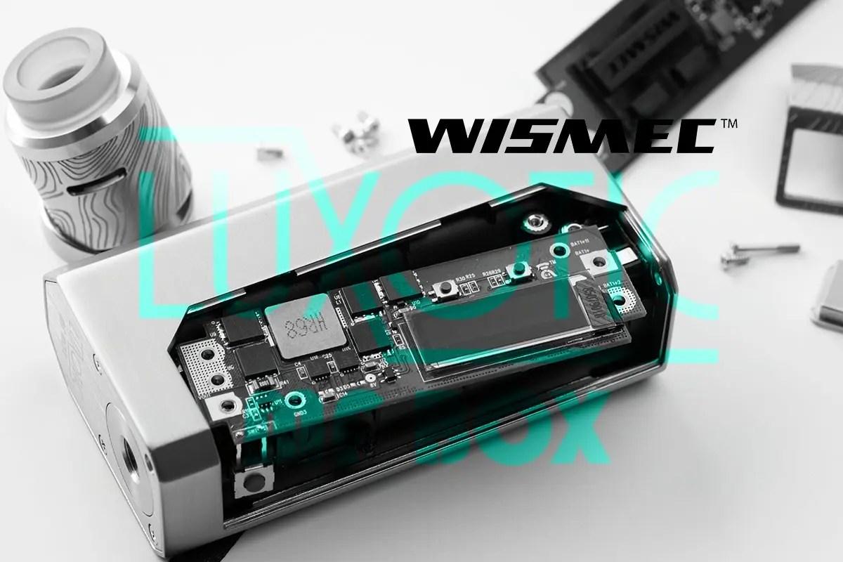 【WISMEC LUXOTIC MF BOXレビュー】基盤付替可能なスコンク対応スターター!
