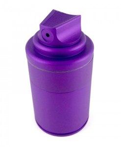 Santa Cruz Shredder Spray Grinder Purple