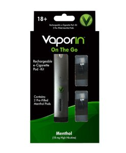 Vaporin On The Go Pod Kit