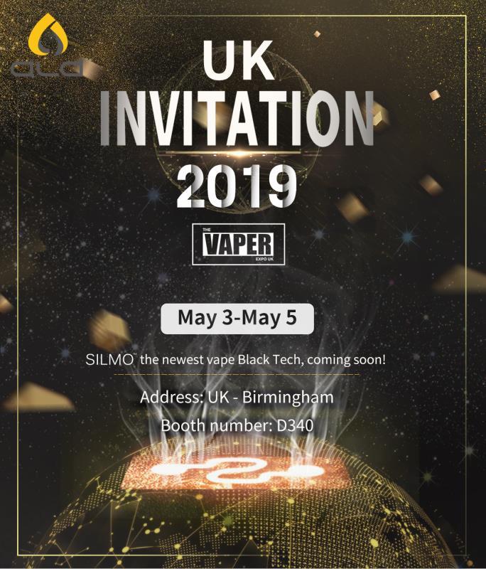 silmotech the Vaper Expo UK invitation